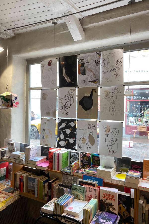 Buchhandlung maKULaTUR Fenster