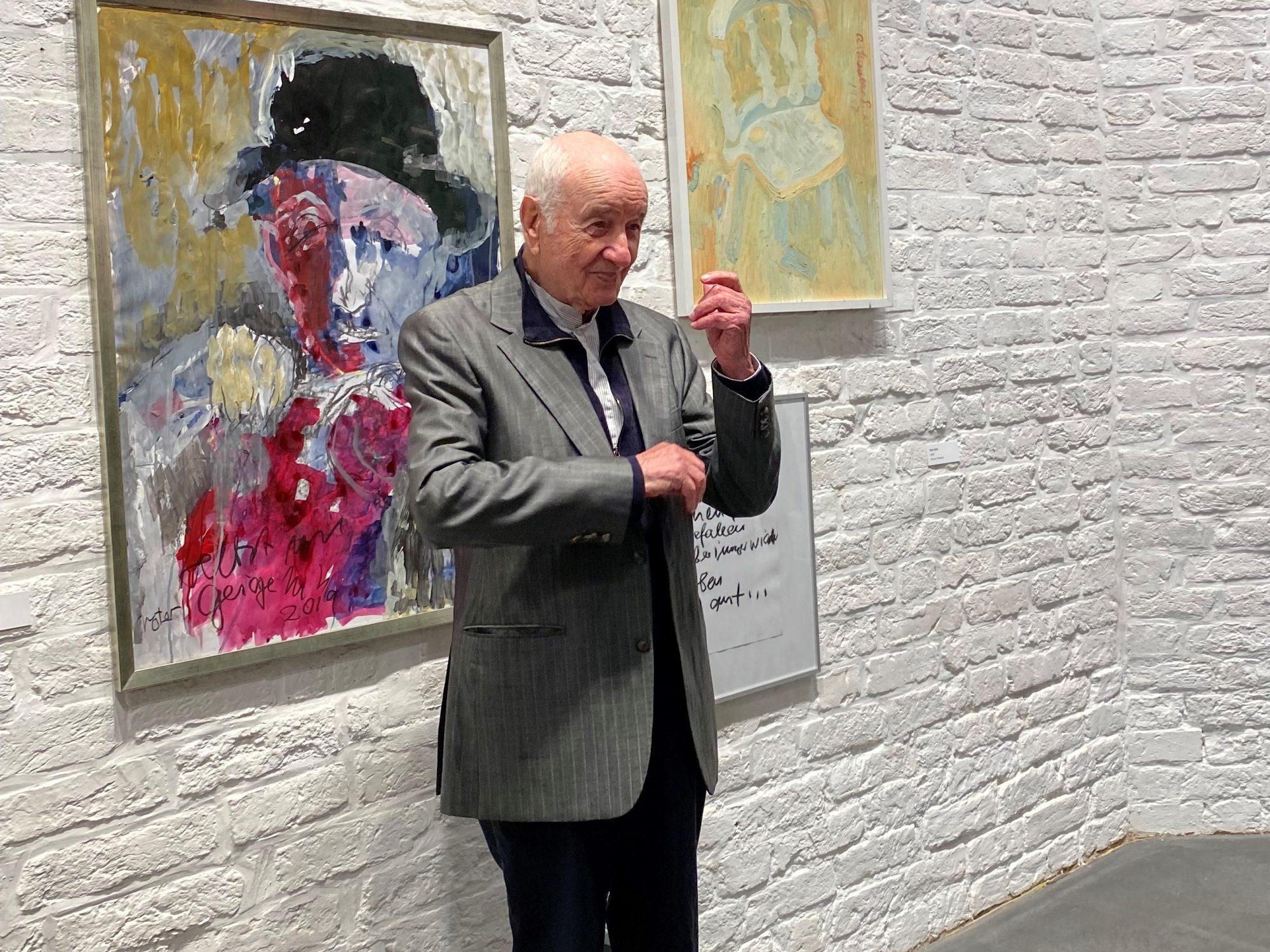 Armin Müller-Stahl- Ausstellung in Lübeck in der Kunsthalle St. Annen