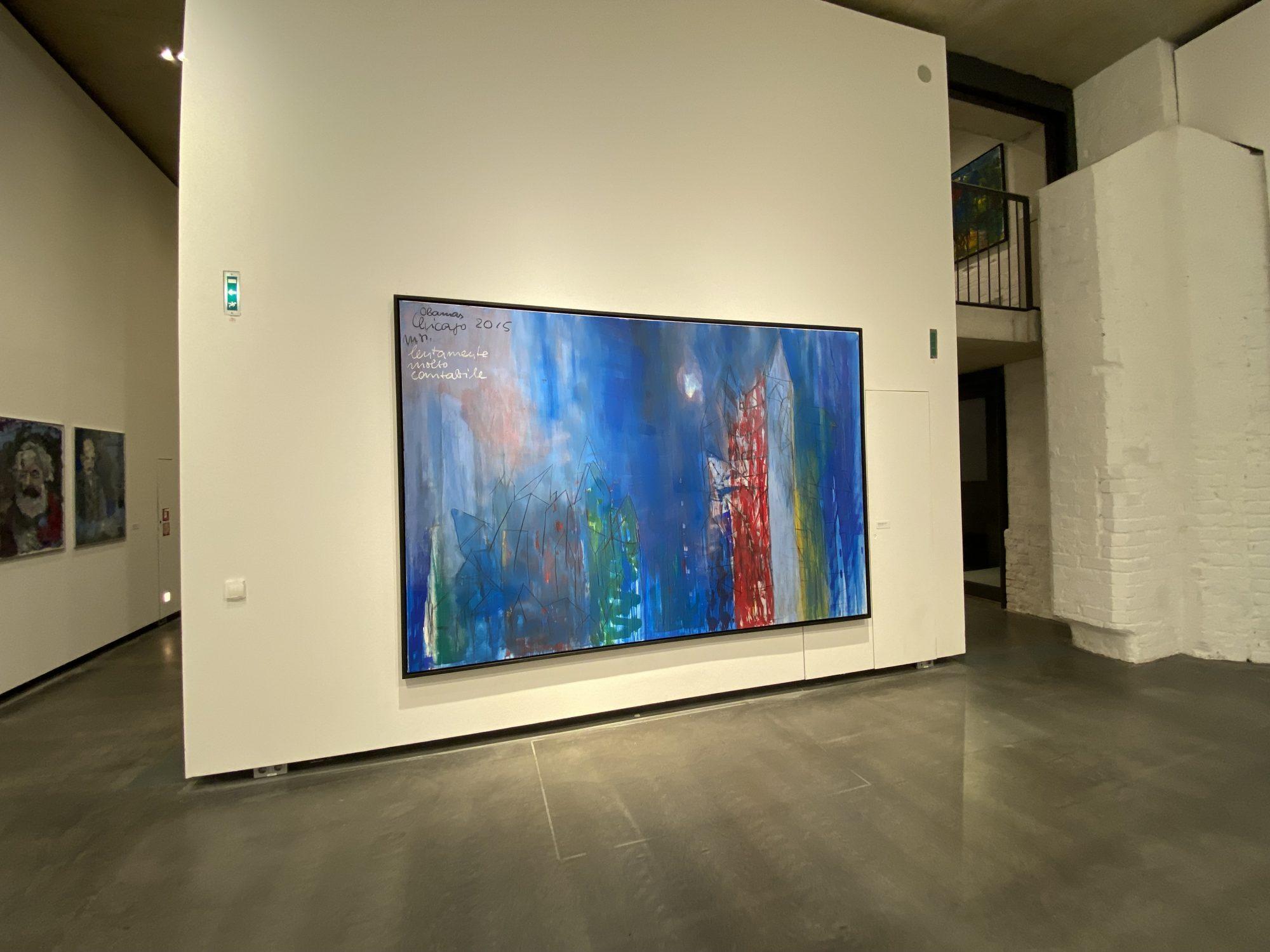 Armin Müller-Stahl Kunst-Ausstellung in Lübeck - Chicago 2015