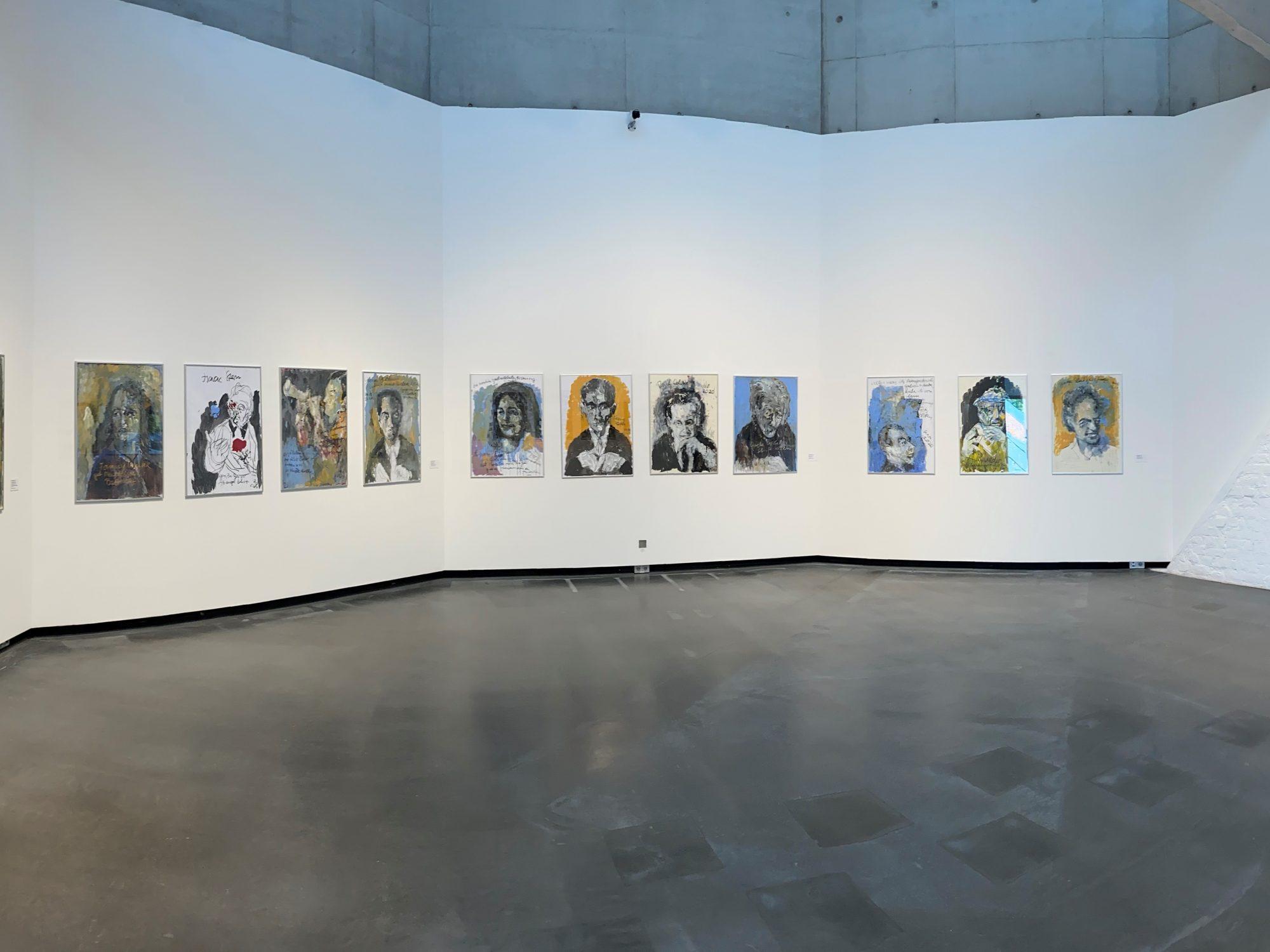 Armin Müller-Stahl Kunst-Ausstellung in Lübeck