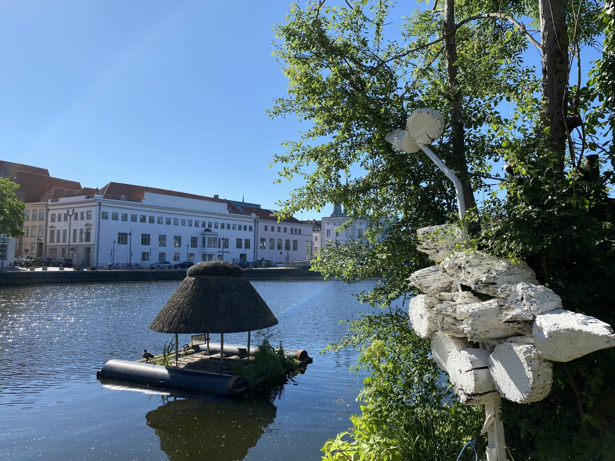 defacto Garten Skulptur Trabohran