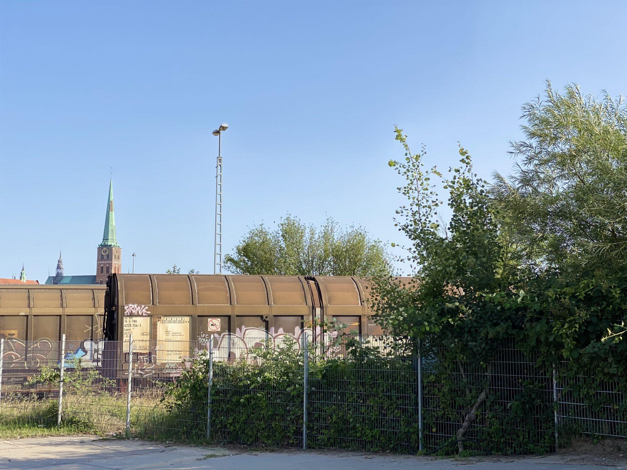 Werftsommer 2021. Die Gollan Kulturwerft: Standort vom Schleswig Holstein Musik Festival.